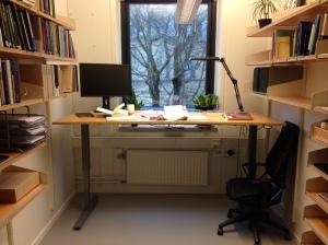 Skrivbord på Eden